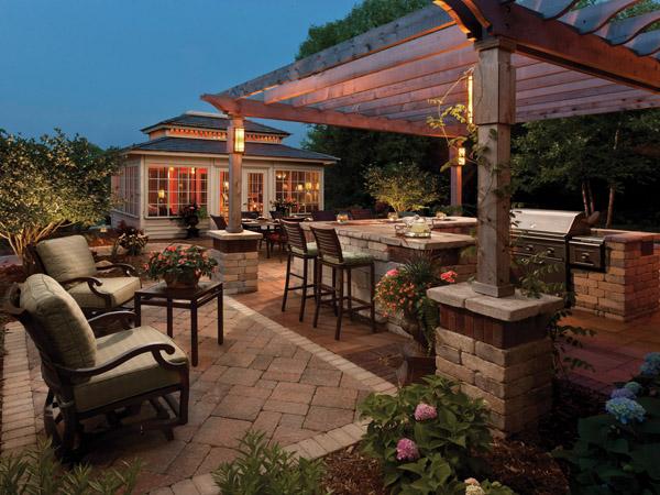 3 Popular Outdoor Kitchen Design Layouts Landscape Design