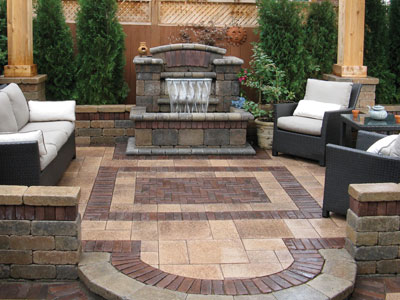 Borders, Accents And Paver Rugs