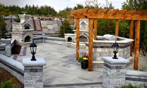 outdoor idea center - Unilock Patio Designs