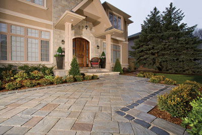 Front Entrance Awesome Front Entrances & Walkways  Unilock Decorating Design