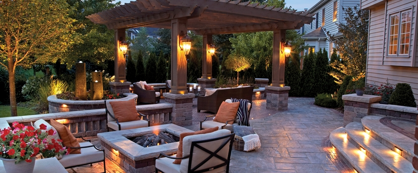Outdoor Lighting   Electric Or Solar | Unilock