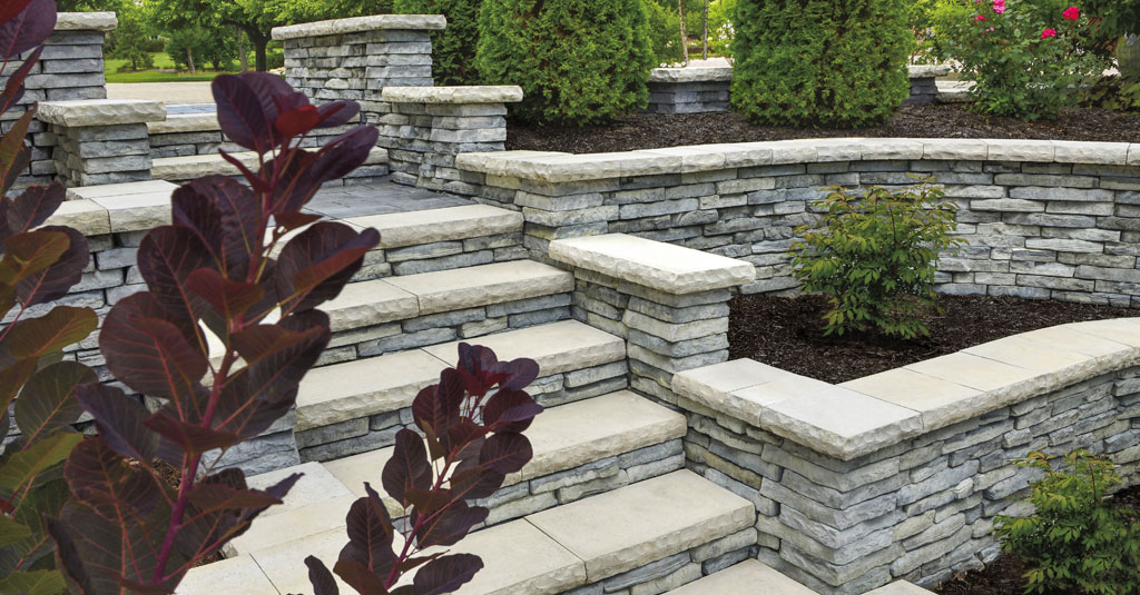 Add Vertical Dimensions With Pillars Steps And Retaining