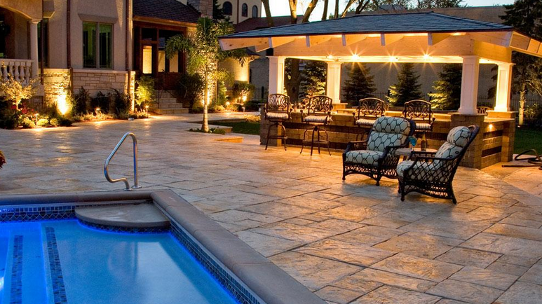 Unilock Pavers in NY, NJ, PA, CT | Outdoor Lighting