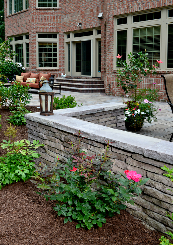 Landscaping Ideas, Outdoor Kitchen, Outdoor fireplace