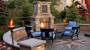 Before you choose Natural Stone for your Outdoor Fireplace…