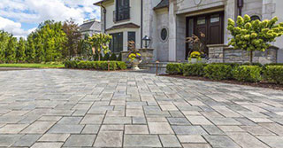 Want the look of bluestone for your driveway?