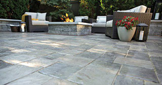 Patio Pavers for Modern Bridgeport, CT Landscape Designs