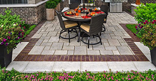 This Year: Patio Design is about Borders and Banding