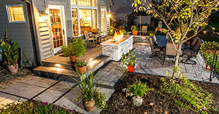 Outdoor Landscape Lighting for Patios, Walkways, and Retaining Walls