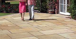 How to select and install Natural Stone for a patio design that pops!