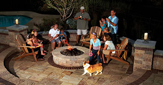 Creating the Perfect Outdoor Fire Pit Room in Your Backyard