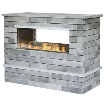 Outside Fireplaces, Outdoor Fireplaces, Pictures and Design Ideas NY, NJ, PA, CT
