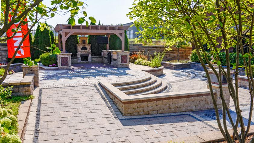 Chicago unilock for Idea center dilshad garden