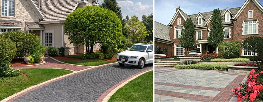 Top Five Driveway Design Considerations Unilock - Driveway design