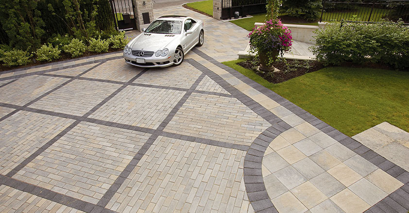 Click Here To View More Driveway Design Ideas.