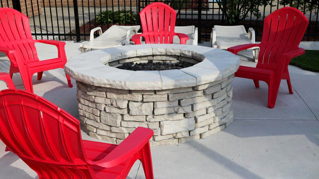rivercrest firepit kit unilock