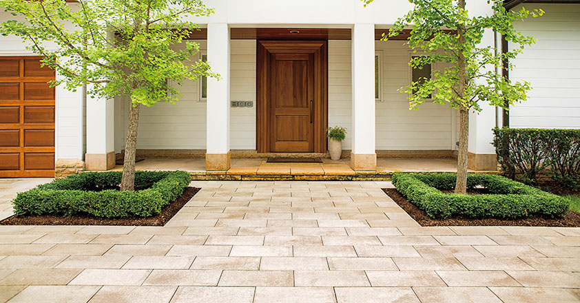 Designing A Front Walkway That Charms And Welcomes Unilock