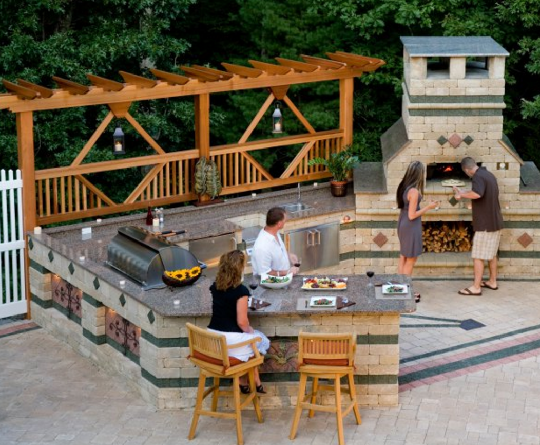 Outdoor Kitchen Design, Landscaping Ideas, Retaining Walls, NY, NJ, PA, CT