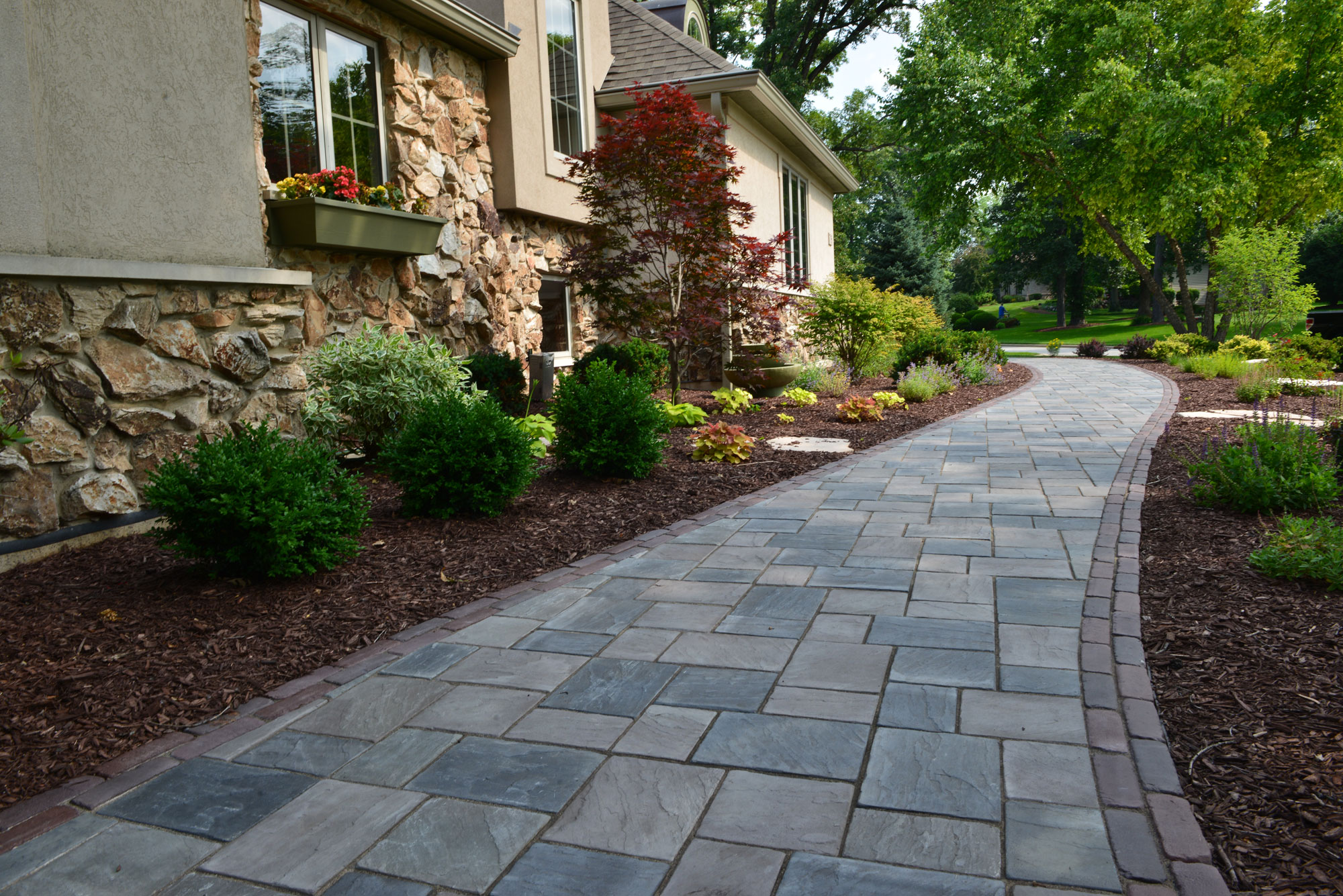 Front Yard Pavers
