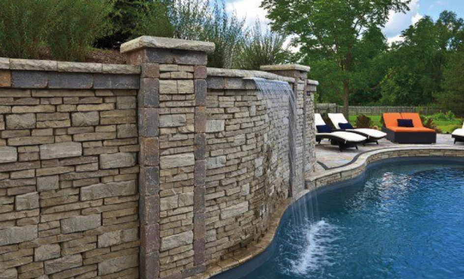 Water Features into Pools in NY, NJ, CT, PA