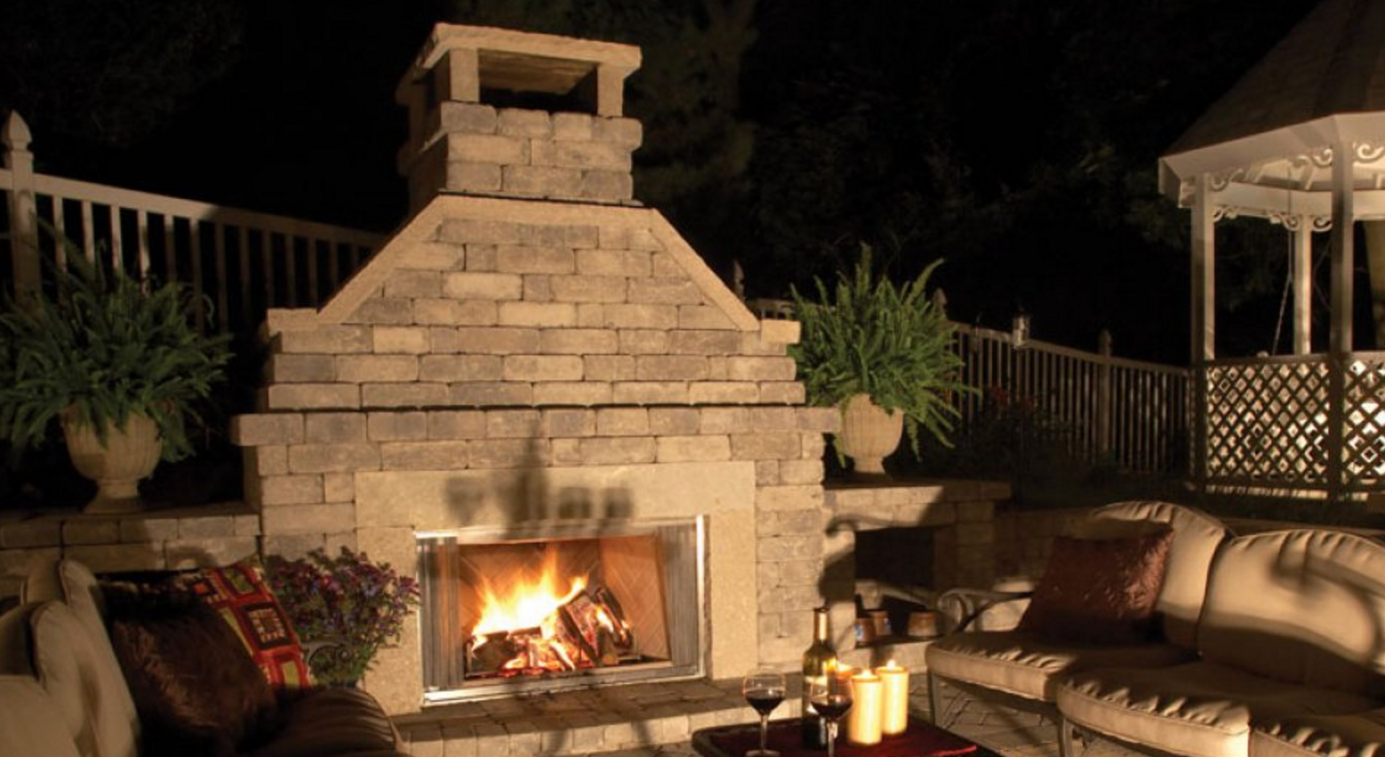 outdoor fireplace design and ideas for NY, CT, PA, NJ