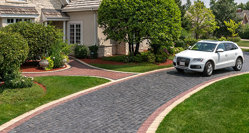 Long Island, NY paver Driveways, Concrete pavers
