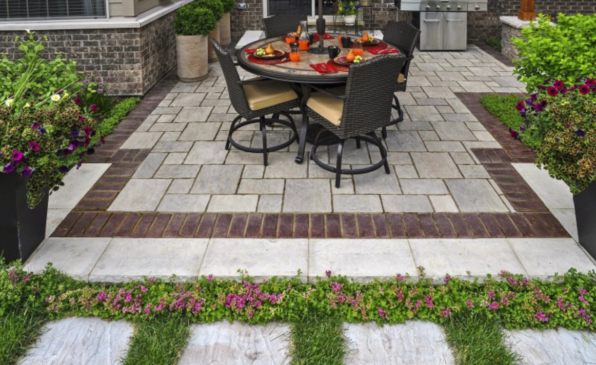 Mississauga Landscape Design with Pavers