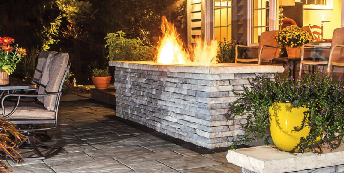 Fireplace, Outdoor Fire pit, NY, NJ, PA, CT Retaining Walls