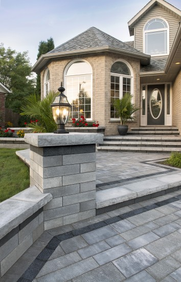 Take A Look At These Patio Designs That Have Made Use Of Borders And  Banding In Interesting And Attractive Ways.