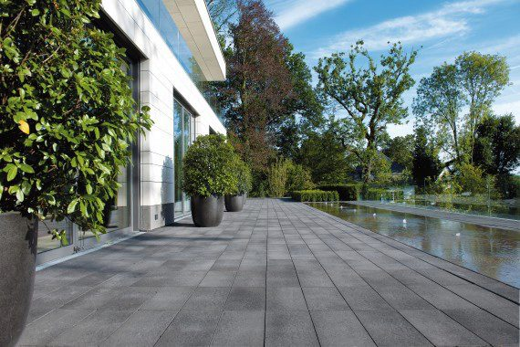 Patio Pavers For Modern Landscape