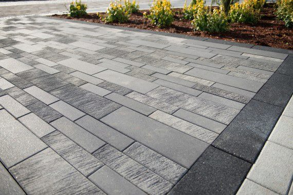 Patio Pavers Modern Bridgeport Ct Landscape Designs on Brick And Crushed Granite Patio
