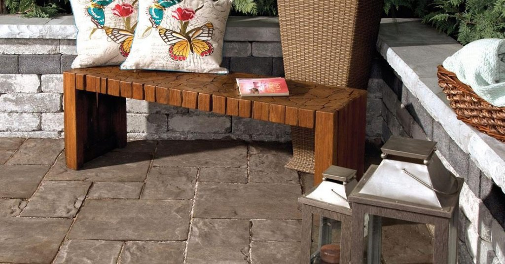Matching Patio Pavers And Furniture To Create 4 Hot Designs