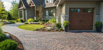 Inviting driveway project