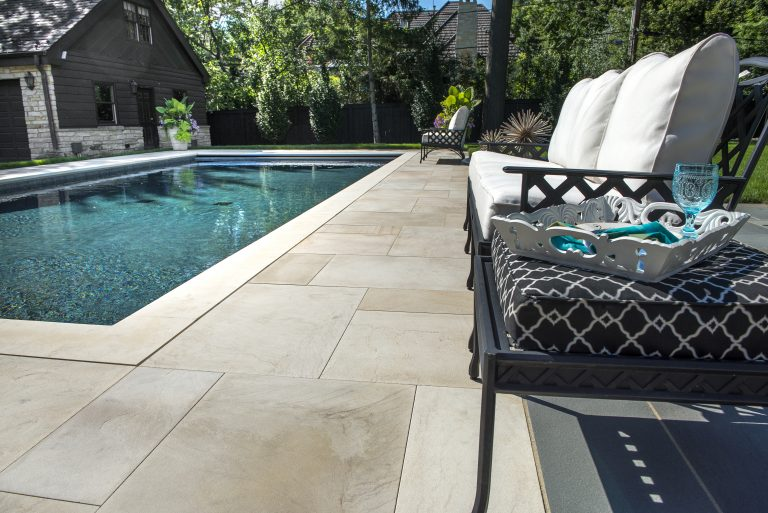 Natural Stone vs Concrete Pavers for Poolsides in Warwick, NY