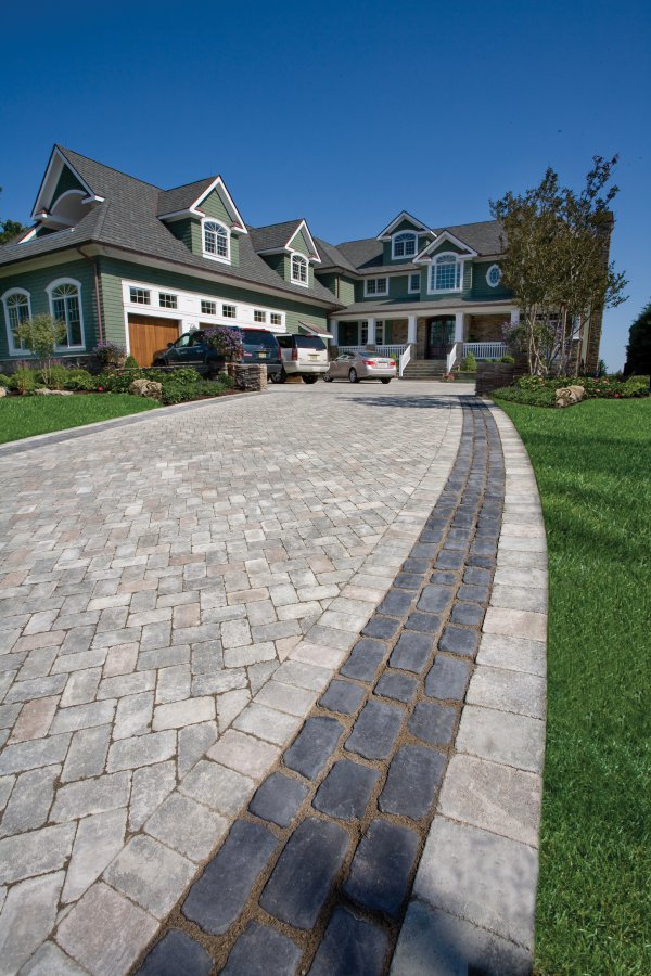 5 Landscape Design Ideas Using Small Format Pavers in East Hampton, NY