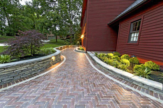 Paving and Framing Quaint Walkways With Concrete Pavers and Natural Stones in Brewster, NY