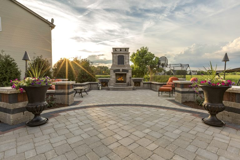 The Best Pavers and Stone Options for Fireside Spaces in Brick, NJ
