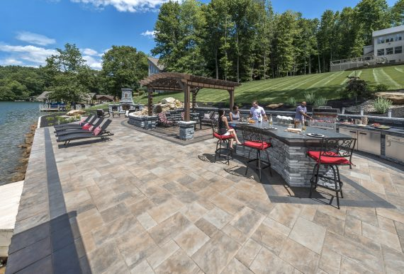 4 Ways That Concrete Pavers Can Expand or Clutter an Outdoor Living Space in Stafford Township, NJ