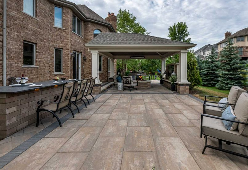 Beacon Hill Xl Patio, with furniture to compliment backyard living