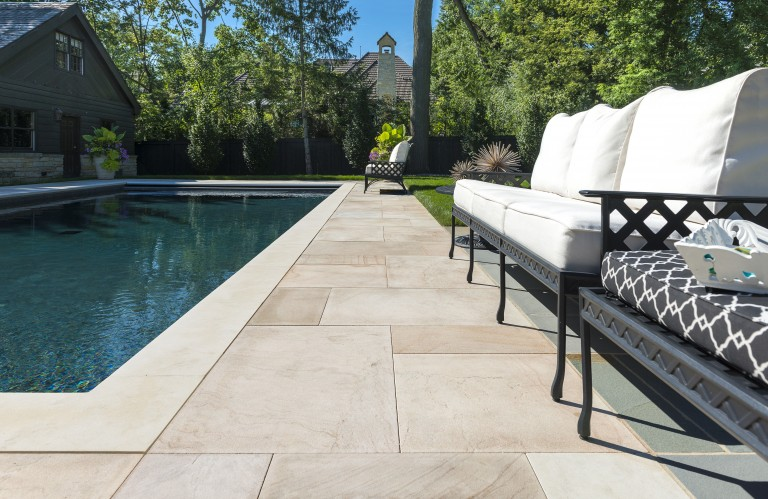 How Natural Stone Is Used to Create Elegant Outdoor Living Spaces in Seaford, DE
