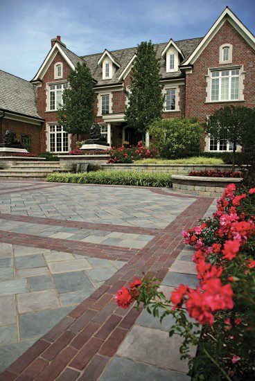 The Look of Bluestone Suits These 4 Landscape Design Styles in Greenwich, CT